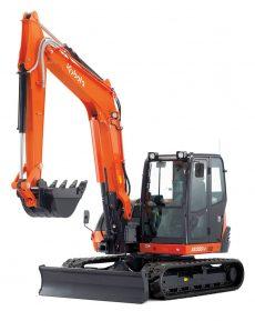 Midi Excavator Kubota KX080-4